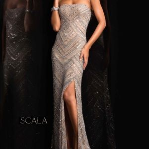Scala Evening Prom Dress Gown XS